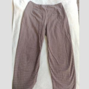 Vintage Plaid High Wasted Pants